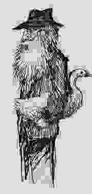 Personaje con ganso 1991-1997